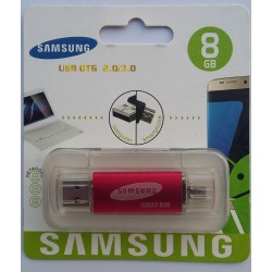 8GB USB Flash Drive with OTG Support 8600 Jack SAMSUNG