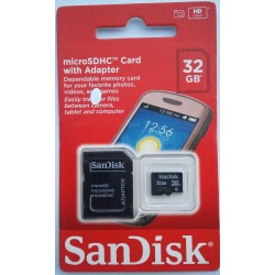 SanDisk 32GB Memory Card HD