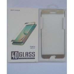 Glass Protector SAMSUNG S6 Edge Plus Gold High Quality