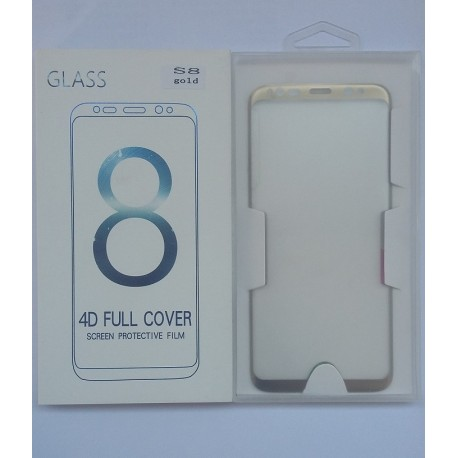 Glass Protector SAMSUNG S8 Gold High Quality