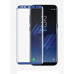Glass Protector SAMSUNG S8 Plus Blue High Quality