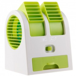 Mini Air Cooler Fan Air Conditioner with Ice Compartment