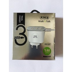 AMB USB 3 Travel Charger 3.4A for iphone 5-6-7