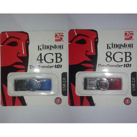 Kingston USB Flash Drive 4GB+8GB Pair