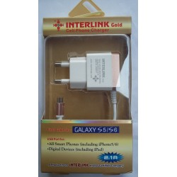 INTERLINK Gold Charger 2.1A USB