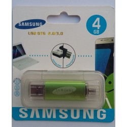 4GB USB Flash Drive with OTG Support 8600 Jack SAMSUNG