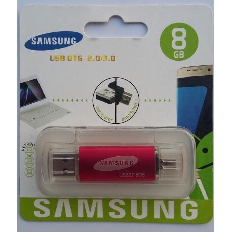 8GB USB Flash Drive with OTG Support 8600 Jack SAMSUNG