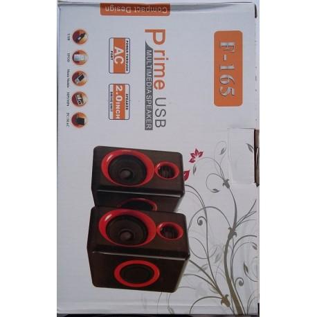Prime F-165 USB Multimedia MP3 Speaker 220V Supply