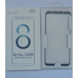 Glass Protector SAMSUNG S8 Black High Quality