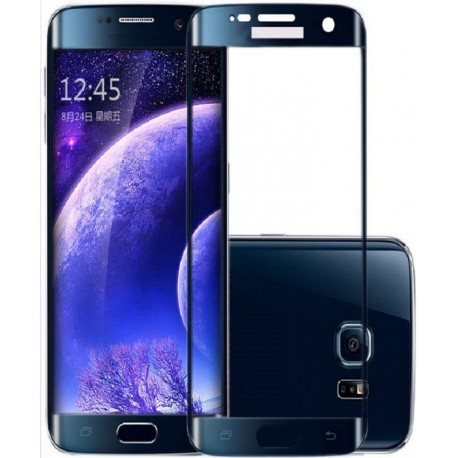 Glass Protector SAMSUNG S6 Edge Plus Blue High Quality
