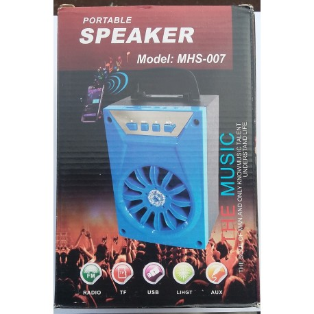 Large Bluetooth Speaker with USB & SD Card Support