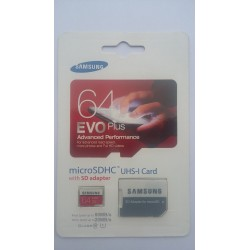 Memory Card 64 GB Evo Plus 80MB/s