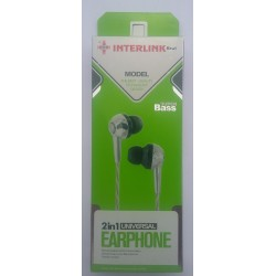 INTERLINK Beat 2 in 1 HandsFree Universal