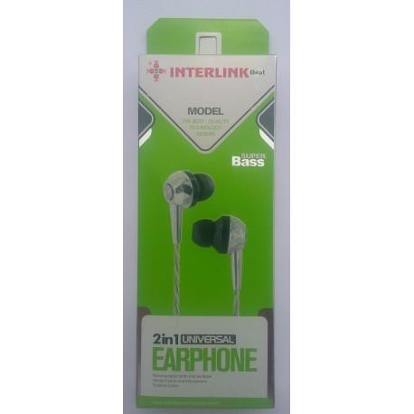 INTERLINK Beat 2 in 1 HandsFree Universal