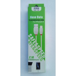 AMB Hose Data Cable For iphone 5-6-7 2.1A