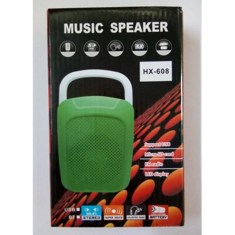 High Quality MP3 Music Speaker HX-608