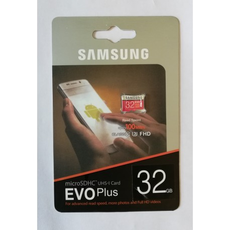 SAMSUNG Memory Card 32GB Evo Plus
