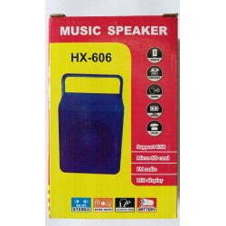 HiFi MP3 Music Speaker HX-606