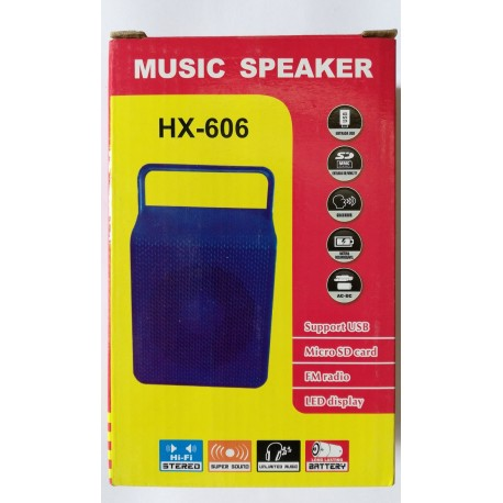 HiFi MP3 Bluetooth Music Speaker HX-606