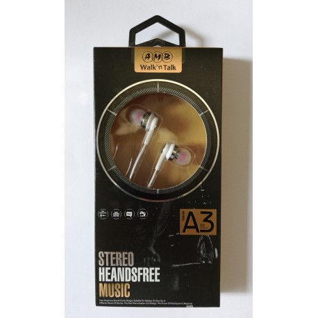 AMB Music Stereo Hands Free A3