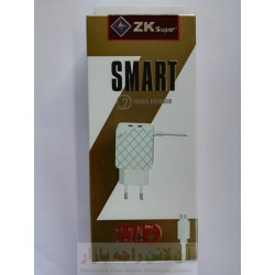 ZK Super 2.1A Smart Charger 3 in 1 for iphone 5-6-7