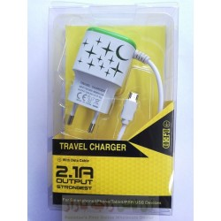 Strong 3 in 1 Travel Charger 2.1A