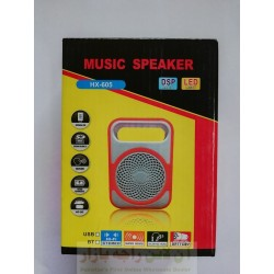 Music Speaker HX-605 with SD Card and USB Support