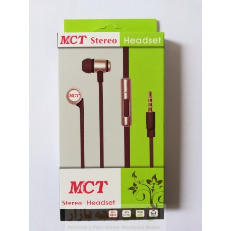Boom Bass MCT Stereo Hands Free