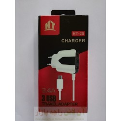 HT Premium Charger 3.4A HT-28 4 in 1 Micro 8600
