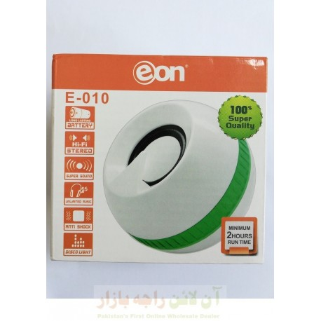 Stylish EON E-10 Speaker with Built-in Battery