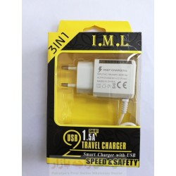IML Smart Travel Charger 2.1A 3 in 1