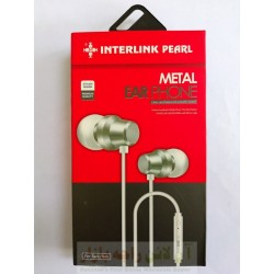 INTERLINK Pearl Hands Free Metal Ear Phone