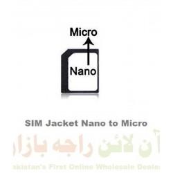 SIM Jacket Nano to Micro Converter