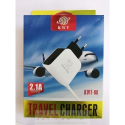 KWT Travel Charger 2.1A KWT-08
