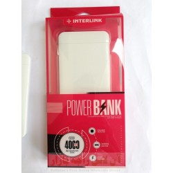 INTERLINK Power Bank 4000 mAh