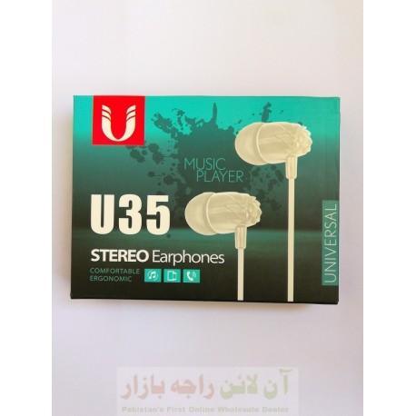 Comfortable Stereo Bass Hands Free U35