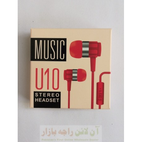 Music Stereo Hands Free U10