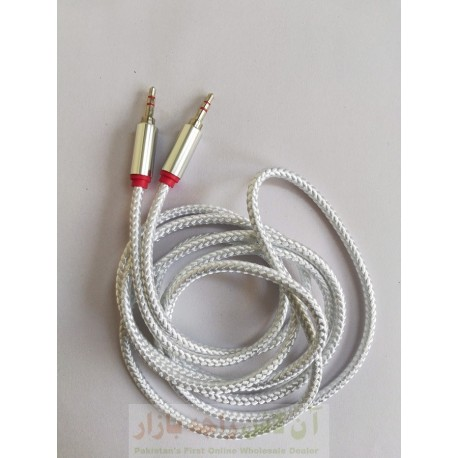 Steal Head Premium AUX Cable 2 Meter Long