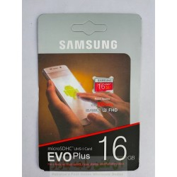 SD Memory Card 16GB EVO Plus