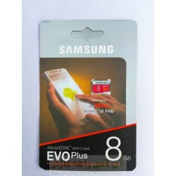 SD Memory Card 8GB EVO Plus