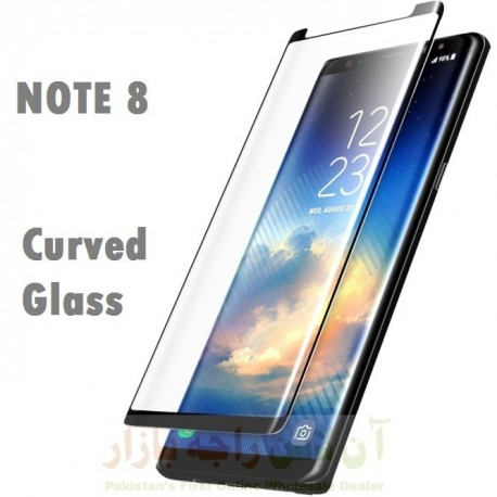 Glass Protector SAMSUNG Note 8 Black High Quality