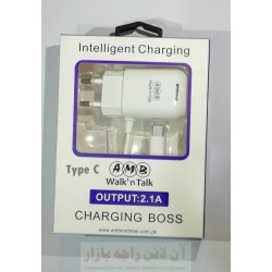 AT ALFA Charging Boss Type C 2.1A Intelligent Charging