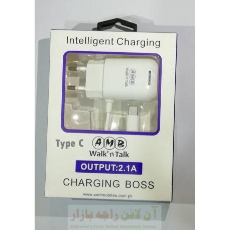 AT ALFA Charging Boss Type C 2.1A Intelligent Charging