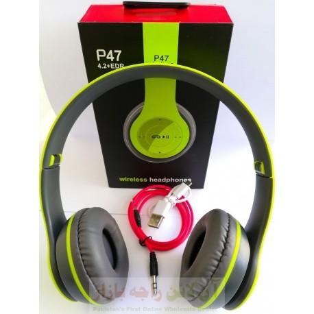 Music Passion Bluetooth P47 Wireless Head Phone