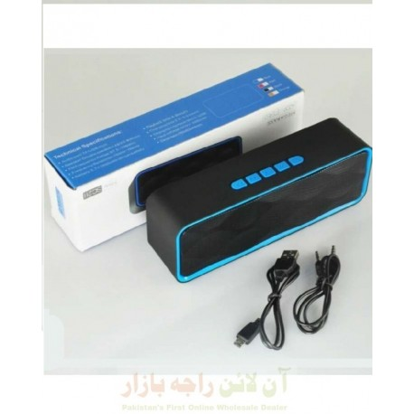 Mega Base A2DP Setereo Blutooth Speaker with AUX USB & SD Card Support