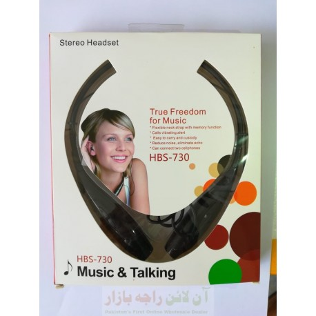 Music Talking True Freedom Bluetooth Headset HBS-730
