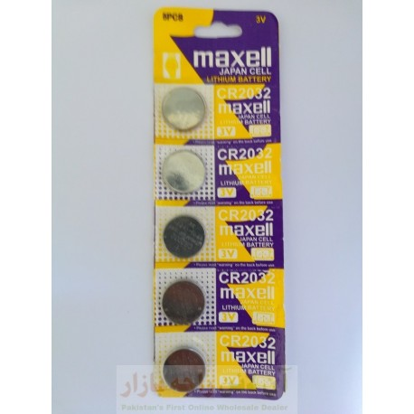 Maxell Battery Cell 3V For Remote Camera Laptop & PC