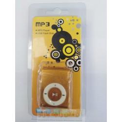 MP3 Shuffle Metallic Body