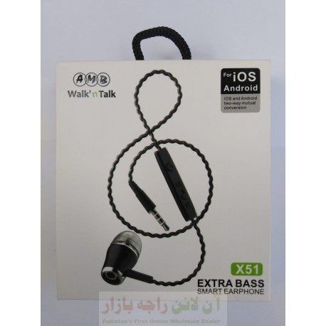 AMB Extra Base IOS Android Hands Free X51