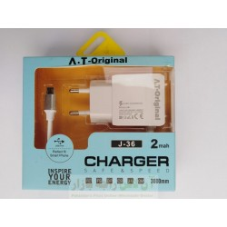 AT Original Charger 2.1A Micro 8600 J-36
